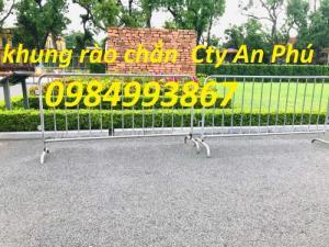 Hàng rào di động barie đặt theo yêu cầu của Khách hàng