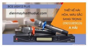 Micro không dây BCE UGX12 Plus hàng cao cấp chính hãng