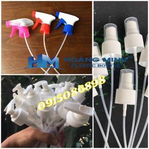 Nhận gia  công nhựa chất lượng cao: Chai, lọ, hũ, nắp, nút...