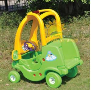Xe chòi chân 4 bánh có mái che cho trường mầm non, công viên, sân chơi trẻ em