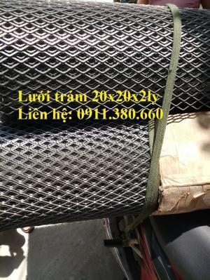 Cung cấp lưới trám ô20x40, Khổ 1mx10m/cuộn hàng có sẵn