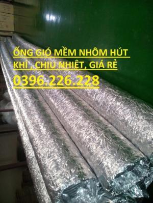 Khuyến mại siêu sốc khi mua ống gió mềm nhôm không bảo ôn D200