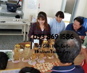 Mua Hoa Sâm Tươi Hàn Quốc làm quà tặng