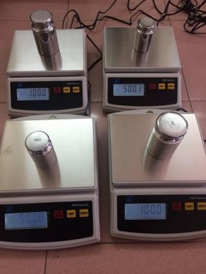 Cân điện tử nhà bếp - 1kg 3kg 5kg, số đen, đèn nền