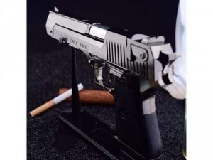 Bật lửa Desert Eagle K54 kích thước 22cm (tỉ lệ 1:1) kim loại, tặng bao da.