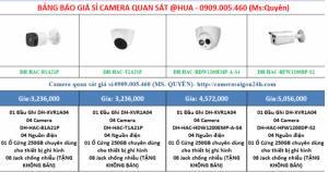 Bộ camera quan sáy @hua chất lượng 2.0 megapixel