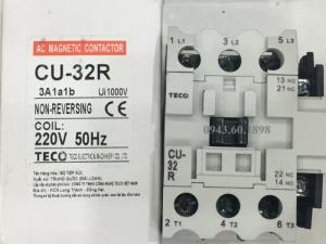 Contactor Teco Cu32R hãng sx Teco-Đài Loan