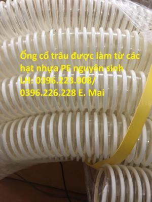 Siêu phẩm ống cổ trâu gân nhựa đường kính trong D80 hàng chất lượng cao