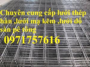 Tấm hàn mạ kẽm cung cấp tại Hà Nội