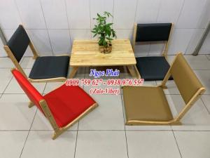 Ghế ngồi bệt kiểu Nhật -  Ghế ngồi bệt giá rẻ - Ghế tatami gỗ