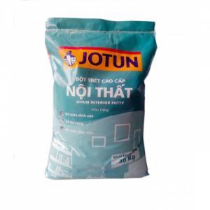 Bột trét Jotun màu trắng bao 40kg giá rẻ tại TPHCM