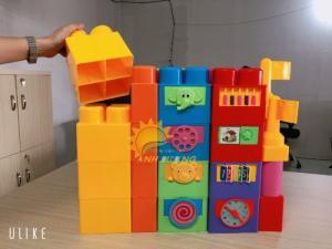 Đồ chơi lắp ráp nhiều chi tiết cho trẻ em mầm non giá cực ƯU ĐÃI