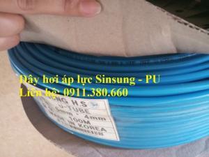 Ống dây hơi nén khí PU- chịu áp lực cao, hàng nhập khẩu Hàn Quốc