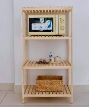 Kệ gỗ 4 tầng đa năng