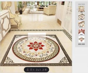 Thảm gạch men - thảm phòng khách