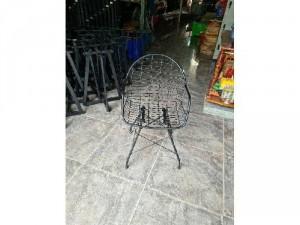 Ghế sắt cafe ngoài trời giá rẻ