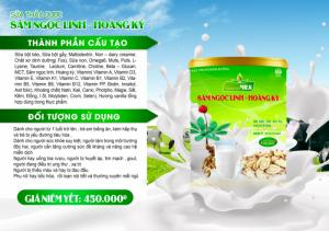 Giỏ quà sữa Hồng Sâm Ngọc Linh