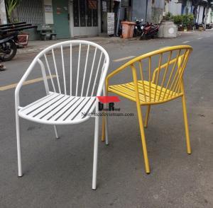 Ghế sắt cafe sân vườn_ ghế sắt ngoài trời đẹp