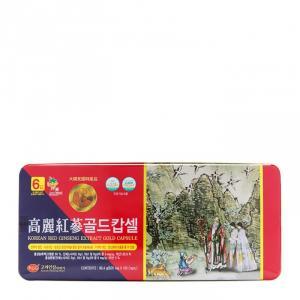 TẶNG KẸO SÂM Viên Hồng Sâm KGS Nhung Linh Chi Hộp Thiếc 120 Viên x 820mg -