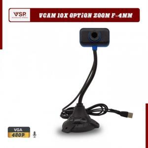 Webcam HD 480p, 720p hình ảnh rõ nét, có micro chất lượng