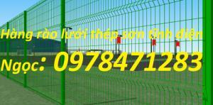 Nơi sản xuất và cung cấp lưới thép hàng rào dập sóng dây 4, dây 5, dây 6.
