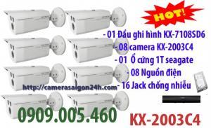 Gói 8 camera quan sát chất lượng giá sale tốt nhất