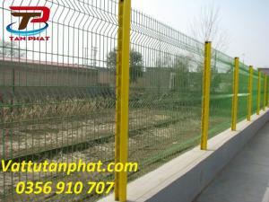 Hàng rào lưới thép mạ kẽm, hàng rào kho giá rẻ dây 5ly