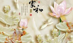 Tranh đẹp men sứ - tranh dán tường