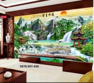 Tranh phong cảnh - tranh đẹp ốp tường