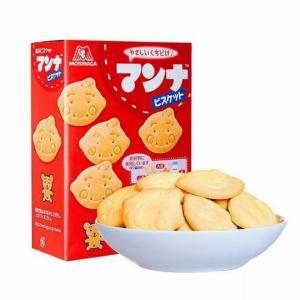 Bánh Quy Hình Thú Morinaga Nội Địa Nhật Dành Cho Bé Từ 7 Tháng - MSN181451