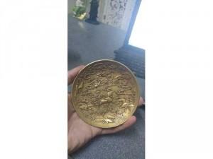 Đĩa đồng nguyên khối