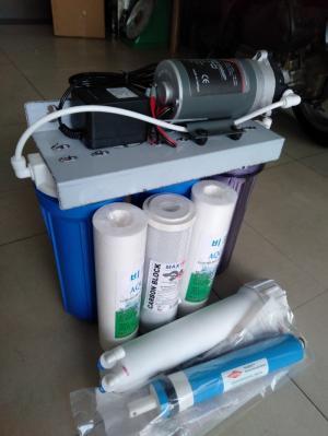 Bộ ba cốc nhựa lọc nước nhiễm mặn 10 inch