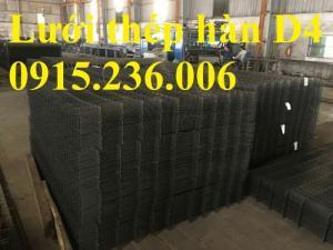 Chuyên Lưới thép hàn D4 a 200x200 giá tốt