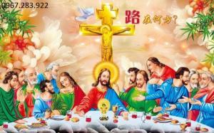 Tranh gạch Công Giáo