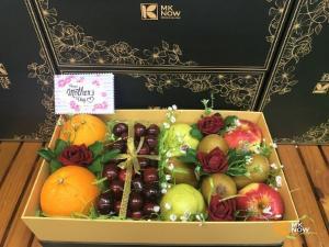 Hộp trái cây biếu tặng sang trọng MKNow - FSNK148