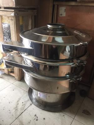 Máy phân loại bột thuốc thú y Hy600 2 tầng, máy sàng bột ngũ cốc, máy rây bột cám gạo