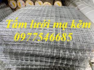 Sản xuất lưới thép hàn mạ kẽm làm giàn lan, lưới mạ kẽm ô vuông