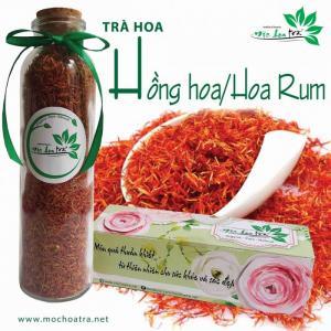 Trà hoa rum/Hồng hoa - Mộc Hoa Trà