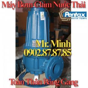 Máy Bơm Chìm Nước Thải PENTAX - SERIE DMT - Toàn Thân Bằng Gang - Đủ CO/CQ
