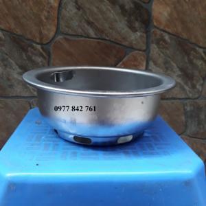 Bát đựng than chất liệu inox cho bếp nướng âm bàn