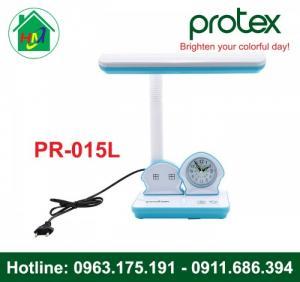 Đèn Học Để Bàn Hình Ngôi Nhà Có Đồng Hồ Protex PR-015L