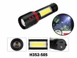 Đèn Pin Sạc 3 Chế Độ ,Đèn Pin Siêu Sáng H352-505