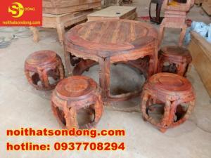 Bộ bàn ghế kiểu trống độc-lạ-đẹp-giá cực rẻ