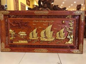 Tranh thuận buồm xuôi gió phong thủy tốt cho gia chủ
