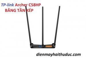 2020-07-20 09:20:31  2 Router TP-link Archer C58HP AC1350 băng tần kép hoạt động nhiều chế độ: như một bộ mở rộng sóng hoặc điểm truy cập WiFi, cung cấp linh hoạt trong mọi tình huống. Router TP-link Archer C58HP AC1350 băng tần kép thu phát Internet cực mạnh 1,470,000