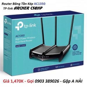 2020-07-20 09:20:31 Router TP-link Archer C58HP AC1350 băng tần kép thu phát Internet cực mạnh 1,470,000