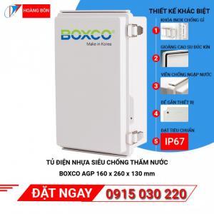 BOXCO IP67 | Tủ điện nhựa siêu chống nước, vỏ tủ điện nhựa ngoài trời