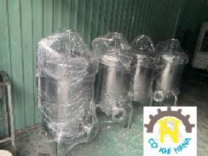 Bình inox 316 lọc nước mắm, dung dịch mặn