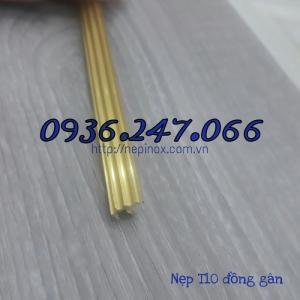 Bán nẹp đồng đặc T10 gân
