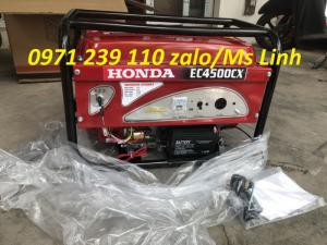 Máy phát điện chạy gia đình Honda EC4500CX Đề Nổ